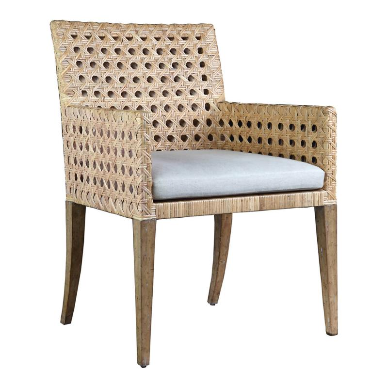 C101-010-1 Leeward Collection Woven Arm Chair