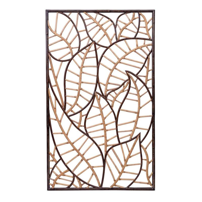 C413-012-1 leaf wall decor