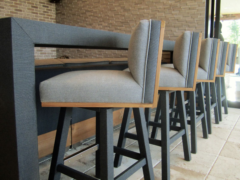 Somers outdoor bar stools