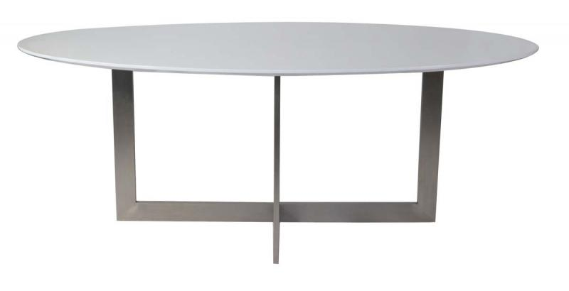 steel stone dining table